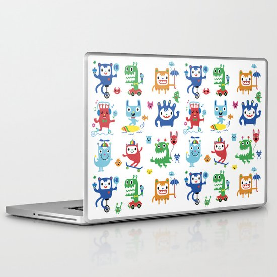 Monster Love Laptop & iPad Skin