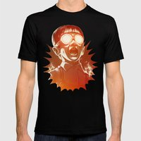FIREEE! Mens Fitted Tee Black SMALL