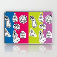 House Pattern Laptop & iPad Skin