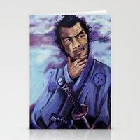Toshiro Mifune Digital P… Stationery Cards