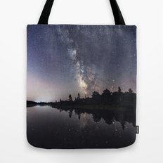 Rotate with the Galaxy Tote Bag
