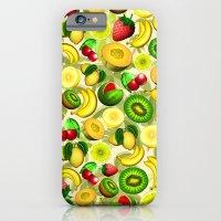 Summer Fruits Juicy Pattern  iPhone 6 Slim Case