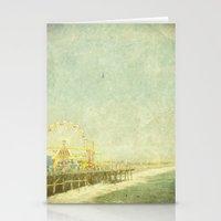 Santa Monica Ferris Whee… Stationery Cards