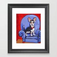 Queen Lucy Framed Art Print