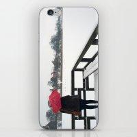 Copenhagen - Red Umbrell… iPhone & iPod Skin