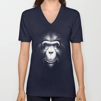 Monkee with Tooth Unisex V-Neck