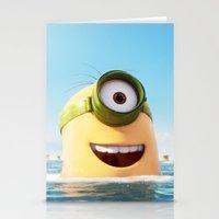 MINION LIFE: HAPPY DAY! Stationery Cards
