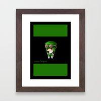 Chibi Zazu Framed Art Print