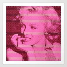 Marilyn ! Art Print