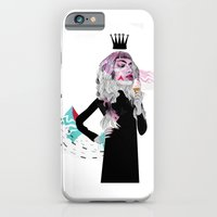 iPhone & iPod Case featuring Ice Cream Queen by Olive Primo Design + Illustration
