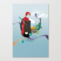 ILOVEMUSIC #6 Canvas Print