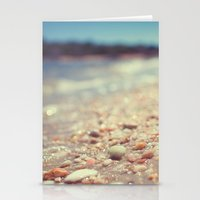 Pebbles Along the Shoreline Stationery Cards