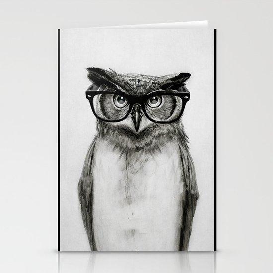 Mr. Owl Stationery Card