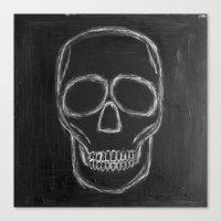 No. 57 - The Skull Canvas Print