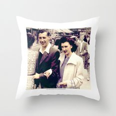 REG - MAUD, BLACKPOOL 1948 2 Throw Pillow
