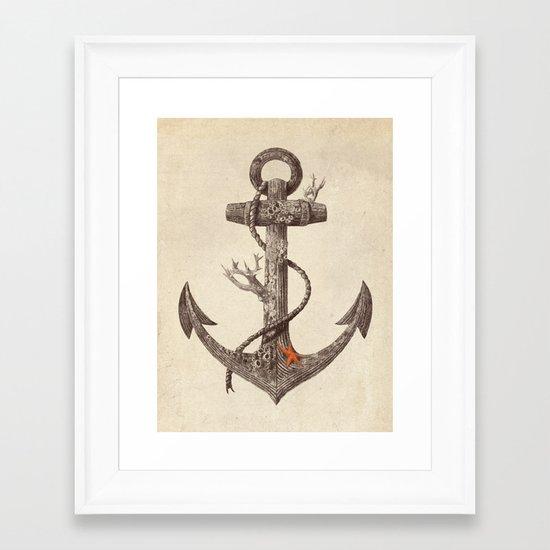 Lost at Sea  Framed Art Print