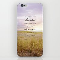 sometimes the dreams iPhone & iPod Skin
