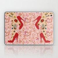 Red Walk Laptop & iPad Skin