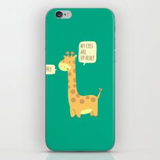 Giraffe problems! iPhone & iPod Skin
