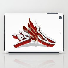 3D GRAFFITI - BOARD iPad Case
