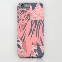 iPhone & iPod Case featuring Tiger Kitty by Alice Rebecca Potter
