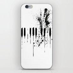 black & white  iPhone & iPod Skin