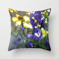 Wildflowers / Nature, Fl… Throw Pillow