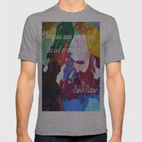 Paint like Picasso. Mens Fitted Tee Athletic Grey SMALL