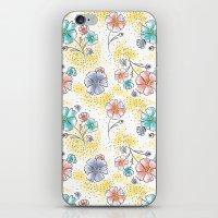 Brilliant Blooms iPhone & iPod Skin