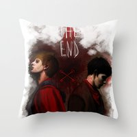 Two Sides Of The Same Co… Throw Pillow
