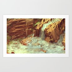 Diamantina [Waterfalls] Art Print