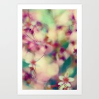 Abstract Spring Art Print