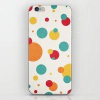 I'm Just A Bit Dotty! iPhone & iPod Skin