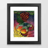 My Sarah Butterfly Framed Art Print
