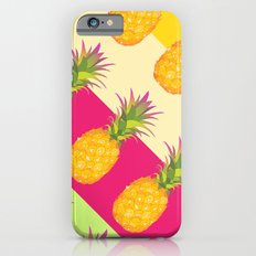Tropical Pineapples Slim Case iPhone 6s