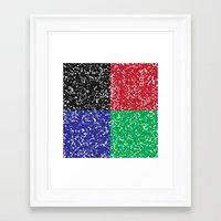 Marble Composition Composition Framed Art Print