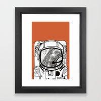 Searching For Human Empa… Framed Art Print