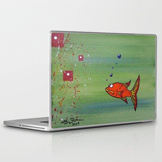 """""""Silver Rush"""" Laptop & iPad Skin"""