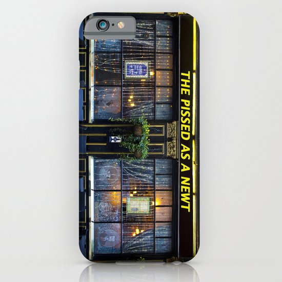 The Pissed as a Newt Pub iPhone & iPod Case
