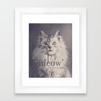 Famous Quotes #2 (anonym… Framed Art Print