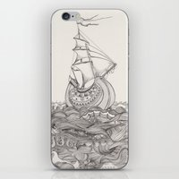 On the sea iPhone & iPod Skin