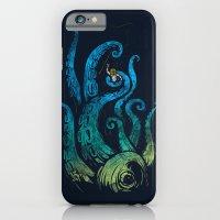 Undersea attack (neon ver.) iPhone 6 Slim Case