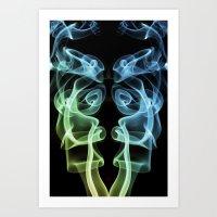 Smoke Photography #8 Art Print
