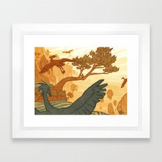 Journey to the Edge of the World Framed Art Print