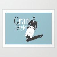 Grand Style Art Print