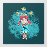 DILLEMA Canvas Print