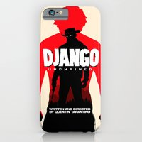 iPhone & iPod Case featuring Django Unchained Poster by Soren Barton
