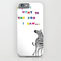 When I Went To The Zoo..… iPhone 6 Slim Case