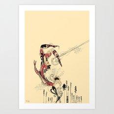 beija-flor Art Print