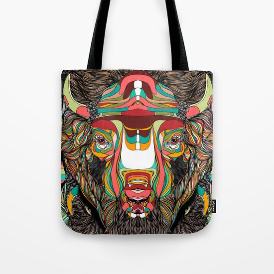 Bison (Feat. Bryan Gallardo) Tote Bag